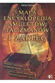 Okładka książki Mała encyklopedia amuletów, talizmanów i zaklęć