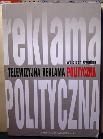 Okładka książki Telewizyjna reklama polityczna