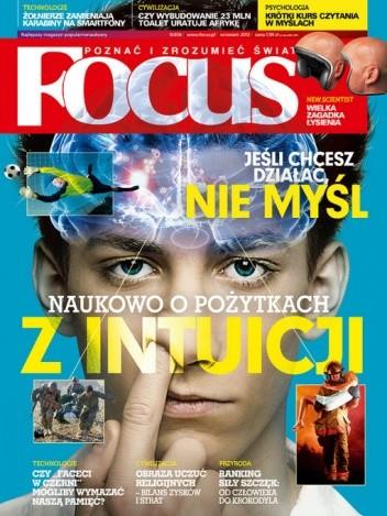 Okładka książki Focus, nr 9 (204)/ wrzesień 2012