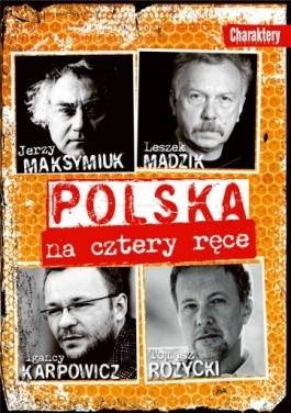 Okładka książki Polska na cztery ręce
