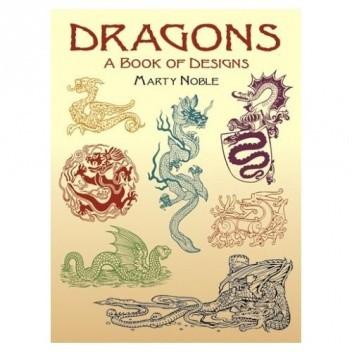 Okładka książki Dragons A Book of Designs