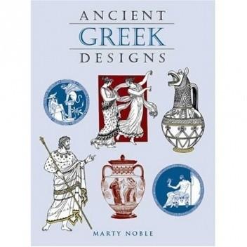 Okładka książki Ancient Greek Designs