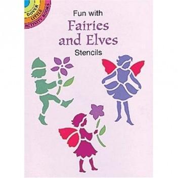 Okładka książki Fun with Fairies and Elves Stencils