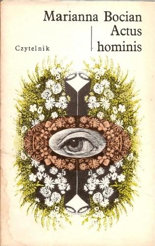 Okładka książki Actus hominis