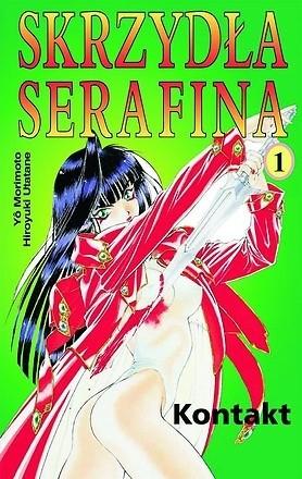 Okładka książki Skrzydła Serafina 1 - Kontakt