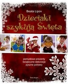 Okładka książki Dzieciaki szykują Święta