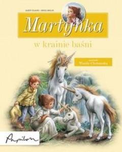 Okładka książki Martynka w krainie baśni