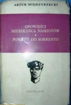Okładka książki Opowieści mieszkańca namiotów. Powrót do Sorrento