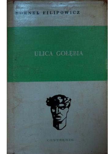 Okładka książki Ulica Gołębia