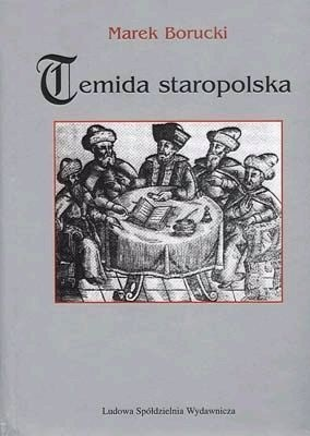 Okładka książki Temida staropolska
