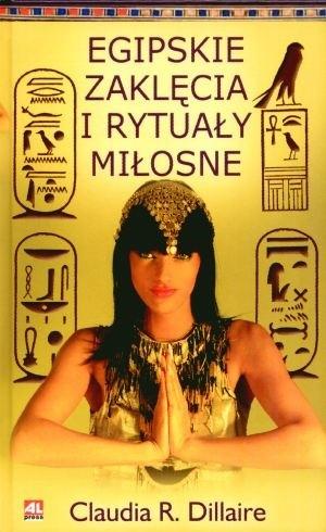Okładka książki Egipskie zaklęcia i rytuały miłosne