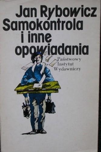 Okładka książki Samokontrola i inne opowiadania