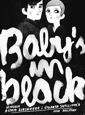 Okładka książki Baby's in black