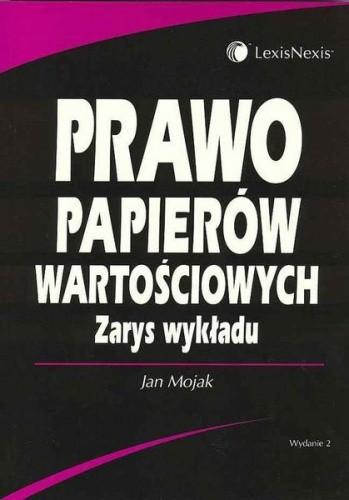 Okładka książki Prawo papierów wartościowych. Zarys wykładu.