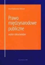 Okładka książki Prawo międzynarodowe publiczne. Wybór dokumentów.