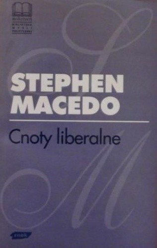 Okładka książki Cnoty liberalne