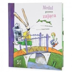 Okładka książki Medal pana Zająca