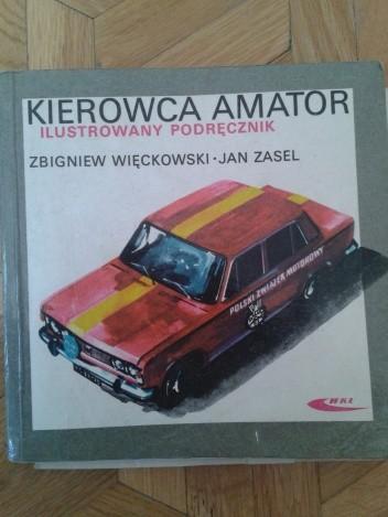 Okładka książki Kierowca amator