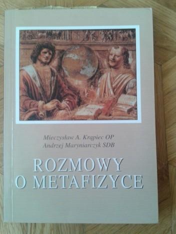 Okładka książki Rozmowy o metafizyce
