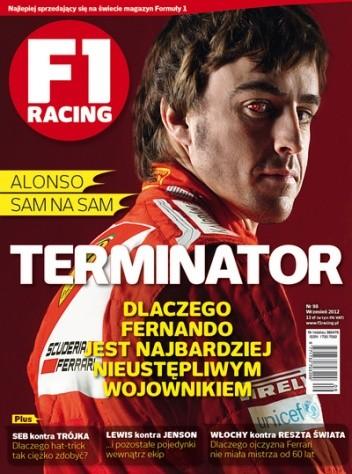 Okładka książki F1 racing nr 98