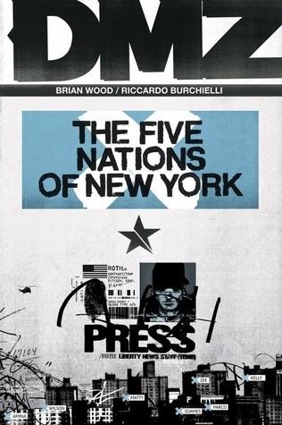 Okładka książki DMZ Vol. 12: The Five Nations of New York