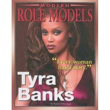 Okładka książki Tyra Banks (Modern Role Models)