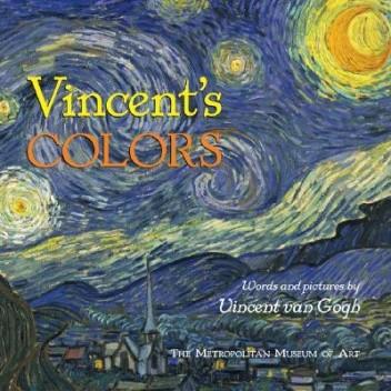 Okładka książki Vincent's Colors