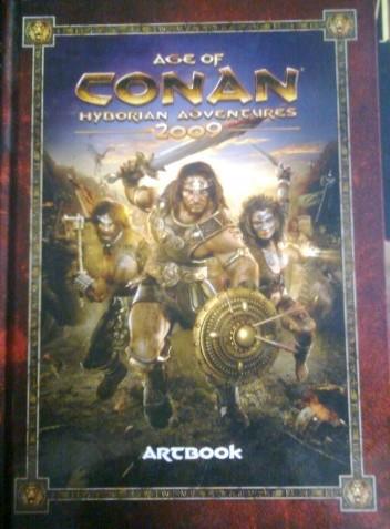 Okładka książki Age Of Conan Hyborian Adventures 2009 Artbook
