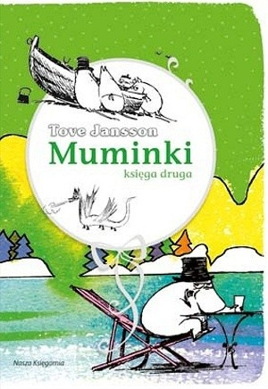 Okładka książki Muminki. Księga druga