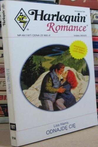 Okładka książki Odnajdę cię