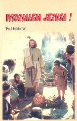 Okładka książki widziałem Jezusa