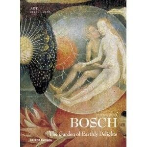 Okładka książki Bosch Garden of Earthly Delights