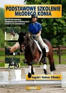 Okładka książki Podstawowe szkolenie młodego konia