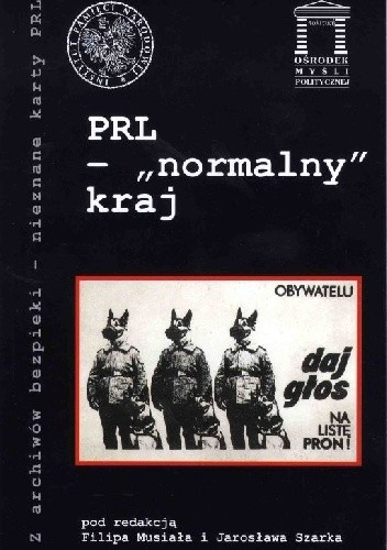 Okładka książki PRL - normalny kraj