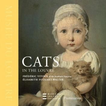 Okładka książki Cats in the Louvre
