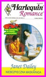 Okładka książki Niebezpieczna maskarada
