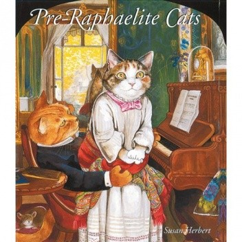 Okładka książki Pre-Raphaelite Cats