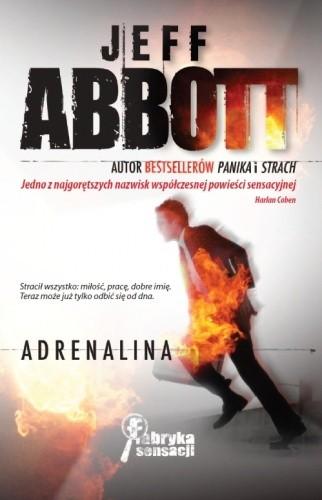 Okładka książki Adrenalina