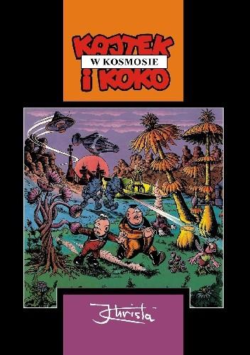 Okładka książki Kajtek i Koko w kosmosie