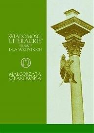 """Okładka książki """"Wiadomości literackie"""" prawie dla wszystkich"""