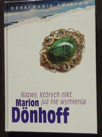 Okładka książki Nazwy, których nikt już nie wymienia
