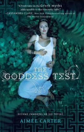 Okładka książki The Goddess Test