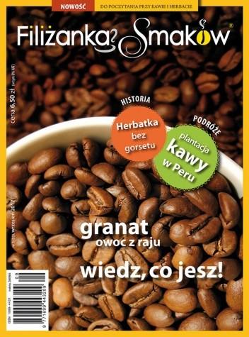 Okładka książki Filiżanka Smaków, nr 5 (33) / wrzesień 2012