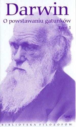 Okładka książki O powstawaniu gatunków.  Tom 1