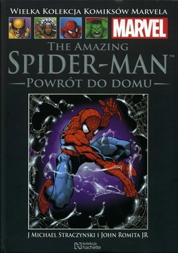Okładka książki The Amazing Spider-Man: Powrót do domu