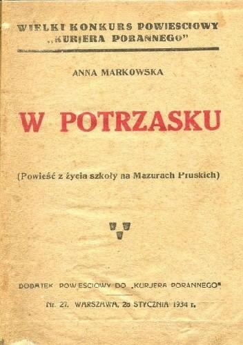 Okładka książki W potrzasku