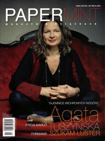Okładka książki PAPERmint, nr 9(13) / wrzesień 2012