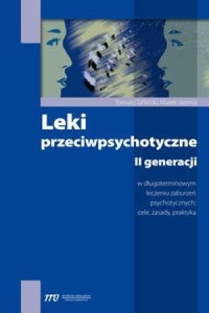 Okładka książki Leki przeciwpsychotyczne II generacji