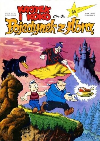 Okładka książki Kajtek i Koko. Pojedynek z Abrą