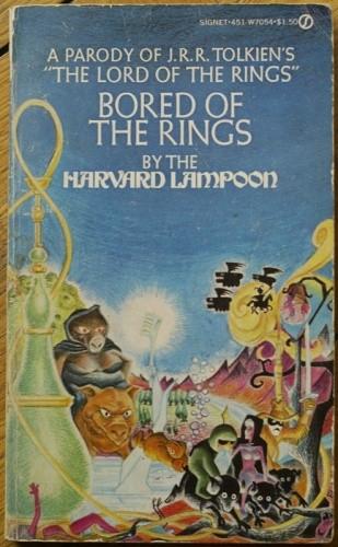 Okładka książki Bored of the Rings